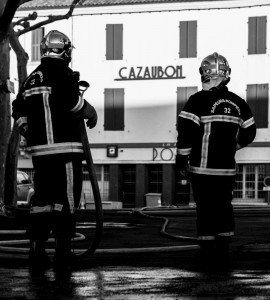 Photo: Amicale SP de Cazaubon